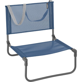 Lafuma Mobilier CB Beach Chair with Cannage Phifertex, ocean